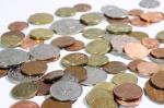 Coins representing an unprofitable business
